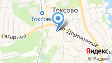 Токсовский центр образования на карте