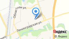 Эстераль на карте