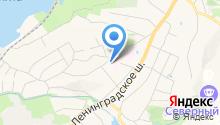 Ленинградская областная клиническая больница на карте