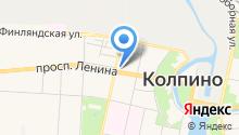Московский индустриальный банк, ПАО на карте