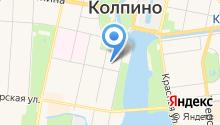 Жилкомсервис №1 Колпинского района на карте