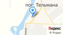 Администрация сельского поселения Тельмановское на карте