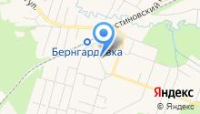 Совет ветеранов микрорайона Бернгардовка на карте