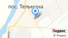 Шиномонтажная мастерская на Красноборской на карте