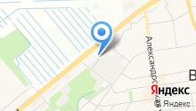 Шиномонтажная мастерская на Межевом проезде на карте