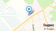 ВАДЦ на карте