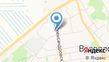 Магазин нижнего белья на Александровской на карте