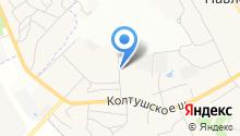 Автостоянка на Верхней на карте