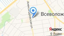 Акадо на карте