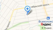 Автомойка на Сергиевской на карте