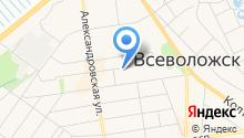 Визовый центр и Центр туризма на карте