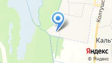 Южная поляна на карте