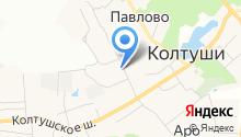 Колтушская общедоступная библиотека на карте