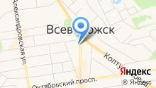 Нотариус Демидчик Н.Е. на карте