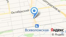 Информационно-консультационный центр на карте