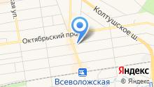 Копировальный центр на Социалистической на карте