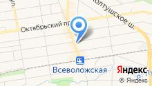 Русский Фонд Недвижимости СПб на карте