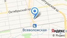 РБИ на карте