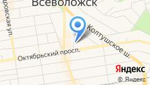 Центр Государственной инспекции по маломерным судам МЧС России по Ленинградской области на карте