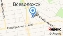 Всеволожский городской суд на карте