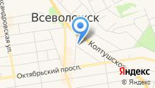 Колтушское шоссе 124/2, ТСЖ на карте