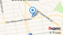 Петербургская сбытовая компания на карте