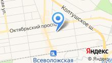 Управление Федеральной службы государственной регистрации, кадастра и картографии по Ленинградской области на карте
