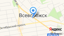 Администрация Всеволожского муниципального района на карте