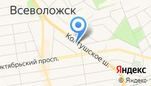 Совет депутатов муниципального образования на карте
