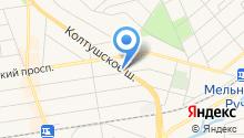 Пенопласт СПб на карте
