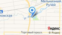 На Мельнице на карте