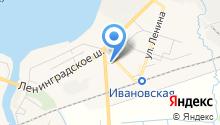 Центр внешкольной работы на карте