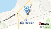 Почтовое отделение №187332 на карте