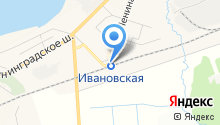 Ивановская на карте