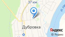 Дубровское на карте