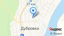 Администрация городского поселения Дубровка на карте
