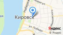Кировская ДЮСШ на карте