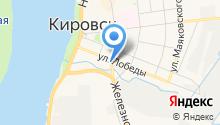 Общественная баня на карте