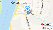 Кафе на Краснофлотской на карте