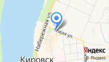 Муниципальное образование Кировск на карте