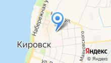 Управление учета и контроля Кировского муниципального района, МКУ на карте