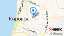 Кировская центральная районная больница на карте