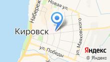 Кировская межрайонная больница на карте
