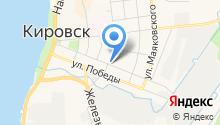 Главное бюро медико-социальной экспертизы по Ленинградской области на карте