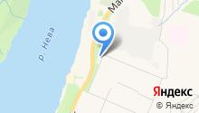 Нева-Ойл на карте