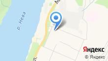 Почтовое отделение №187341 на карте