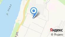 Корвет, ТСЖ на карте