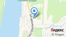 Сеть автомоечных комплексов на карте