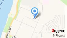 Магазин свежей выпечки на Молодежной на карте