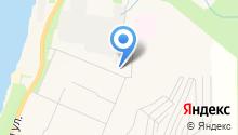 Магазин стройтоваров на Северной на карте